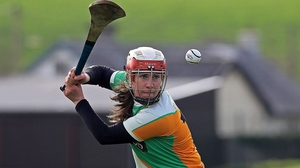 Siobhan Flannery in action for Offaly