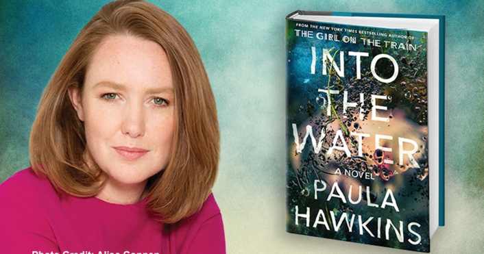 Paula Hawkins at the Dead In Dun Laoghaire crime-writing festival