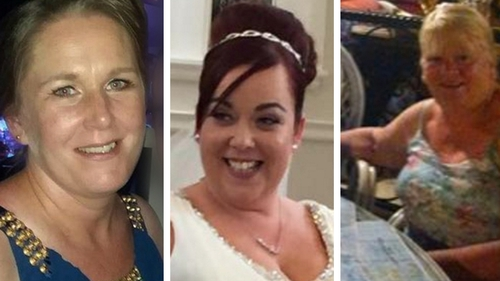 Rachel Cassidy, Mairead Mundy and Margaret McGonagle all died in the July crash