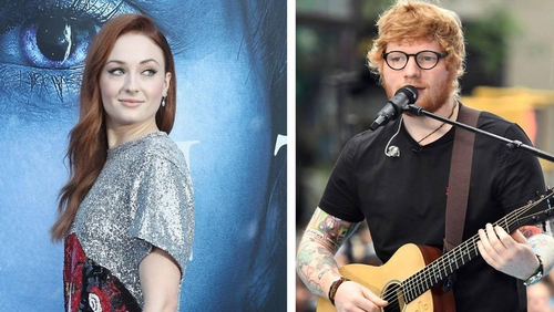 """Sophie Turner -  """"I told her by accident! I was like, 'Oh, when's Ed Sheeran coming on the show?'"""""""