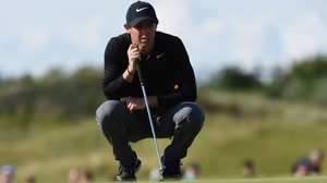 Rory McIlroy: 'I definitely feel like today was an opportunity lost to get right in the mix.'