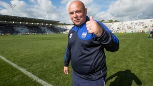 Waterford manager Derek McGrath basks in the All-Ireland quarter-final win over Wexford