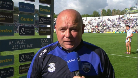 "Derek McGrath: ""Delighted to be in a third semi-final in a row"" 