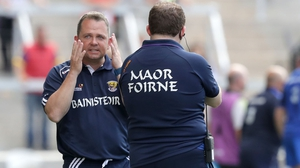 It was a frustrating day for Davy Fitzgerald and Wexford