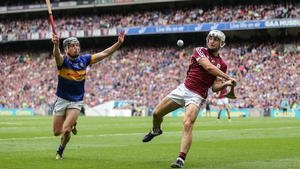 Action from last year's All-Ireland semi-final between Galway and Tipperary