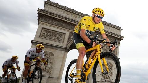Chris Froome is pursuing a fifth Tour de France title