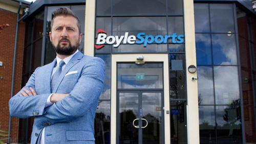 Boylesports' chief executive Conor Gray said the company is aiming for 300 shops on the island of Ireland
