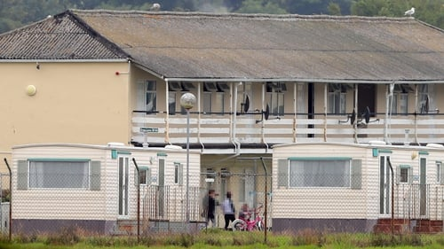 Direct provision centre at Mosney
