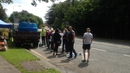 Queues at Stameen in Drogheda where one of the water tankers has been deployed