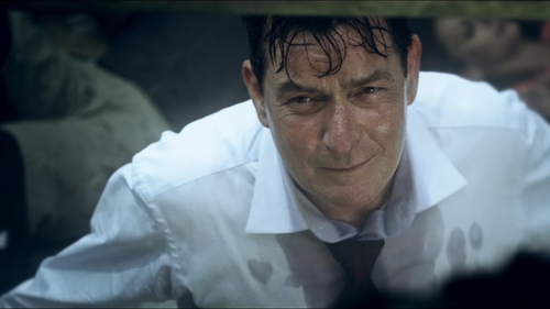 The trailer for Charlie Sheen's 9/11 film has come under fire