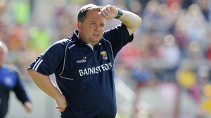 Davy Fitzgerald during Wexford's loss to Waterford last Sunday