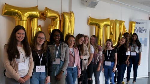 Teen Turn Induction Day At Science Gallery Dublin