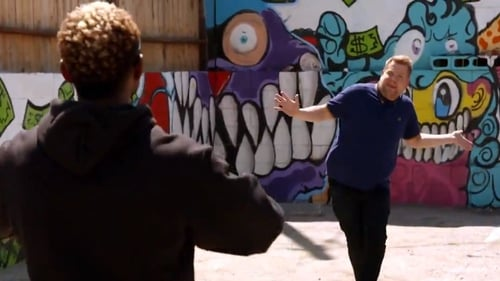 Let's dance! Usher tried to teach James Corden some of his epic dance moves