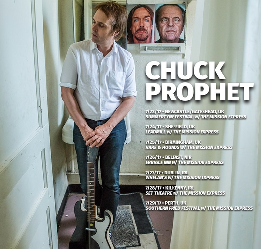 Chuck Prophet in session