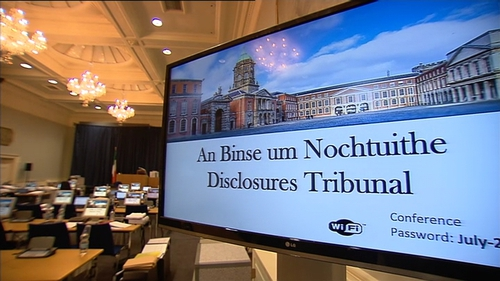 The tribunal is hearing closing submissions on the creation and distribution of the Tusla file containing false allegations against Maurice McCabe