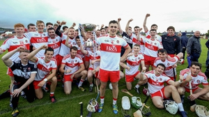 Derry celebrate their victory