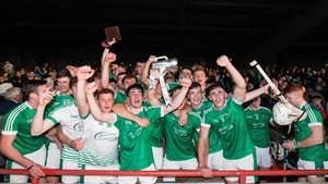 Limerick celebrate winning the Munster U21 hurling title