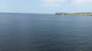 The man, who was from Poland, was fishing off the rocks at Castle Point near Kilkee when he fell into the sea