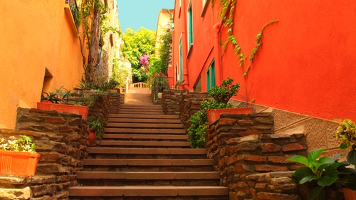 Peace and tranquillity in Collioure