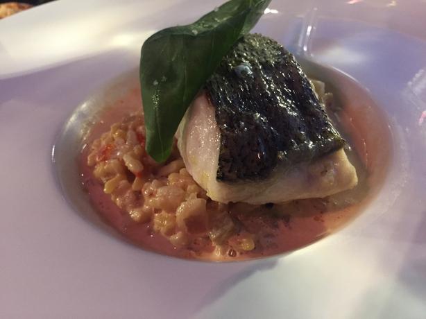 Fish rissotto at Le Neptune