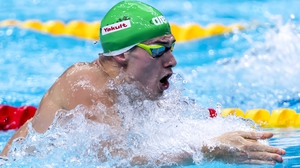 Nicholas Quinn: 'It was a good swim, a season's best, that's what you come here to try and do.'