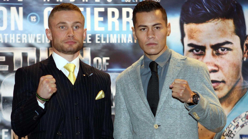 Frampton refuses to look past Gutierrez