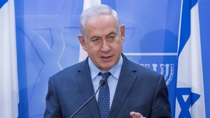 Benjamin Netanyahu made the remarks while speaking with family members of stabbing victims