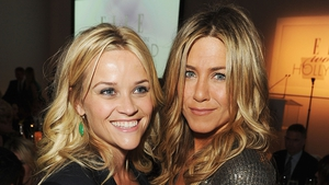 Reese Witherspoon and Jennifer Aniston - Due to begin filming new series in Los Angeles next week