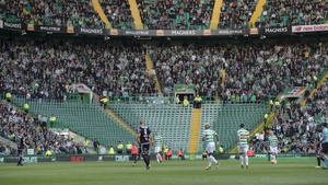 The 'Green Brigade section' closed off