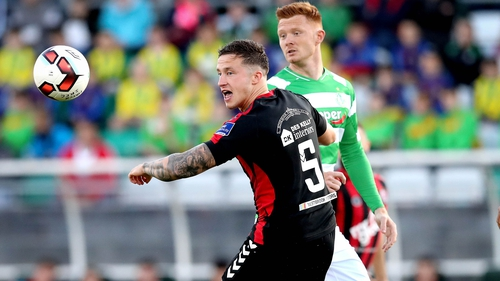 Shamrock Rovers and Bohemians meet in the Premier Division for the third time this season