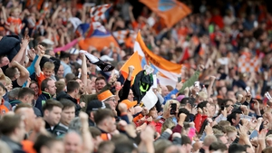 Armagh fans are back cheering on their side in Croke Park