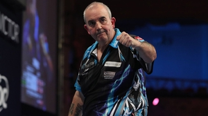 Phil Taylor is on the verge of a 16th World Matchplay title (pic Lawrence Lustig, PDC)