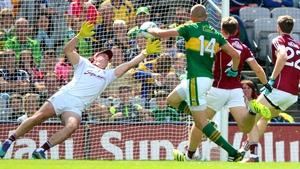 Kerry's Kieran Donaghy scores
