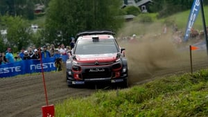 Craig Breen lies in seventh places in the WRC standings