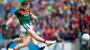 Lee Keegan fired home Mayo's goal in the drawn game