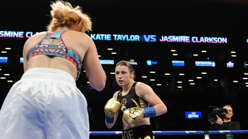 Katie Taylor: 'Once I have that belt I can unify the other (lightweight) belts'