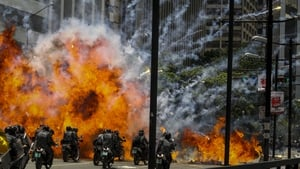 Anti-Maduro activists clash with security forces in Caracas