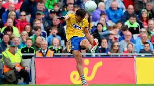 Donie Smith sends over a late free for Roscommon