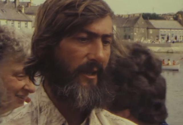 Declan Mackell at Strangford Lough (1982)