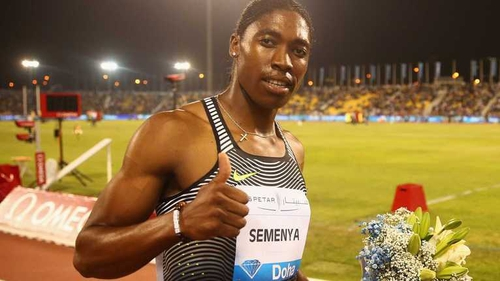 Caster Semenya faces having to take medication to lower her higher than normal levels