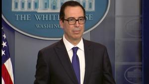 US Treasury Secretary Steven Mnuchin is in Beijing for trade talks with China