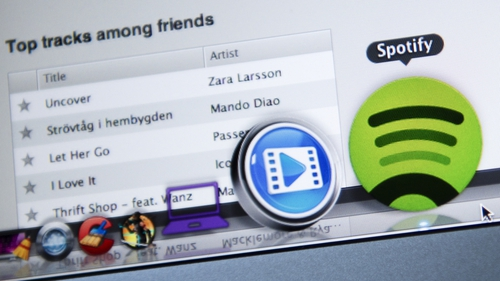 Spotify said its premium subscribers were up 21% to 158 million from a year earlier