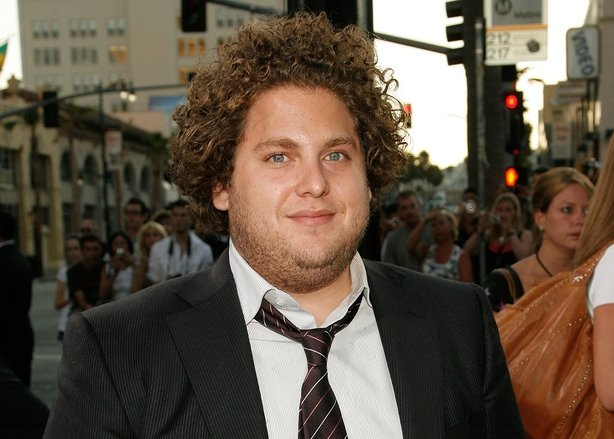 Jonah Hill arrives at the premiere of 'Superbad' at the Grauman's Chinese Theatre in 2007