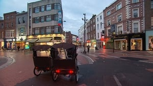 Rickshaws are a popular form of transport in Dublin and a number of cities around the country