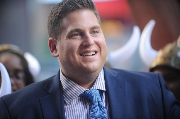 Actor Jonah Hill attends the 'How To Train Your Dragon 2' Photo Call in Times Square on June 6, 2014