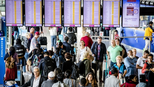 Chaos in European airports as new security measures cause huge delays