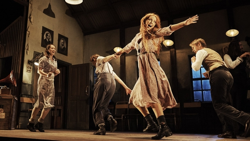 Lisa Lambe stars in the Abbey Theatre production of Jimmy's Hall.