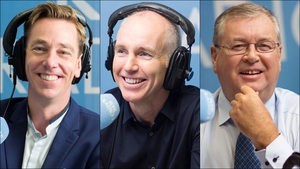 Ryan Tubridy tops the top 10 earner's list 2016, Ray D'Arcy is in second place, while Joe Duffy is third
