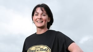 Roscommon woman Sinead Gannon has won the Rock 'n' Roll Marathon competition thanks to her inspiring story.