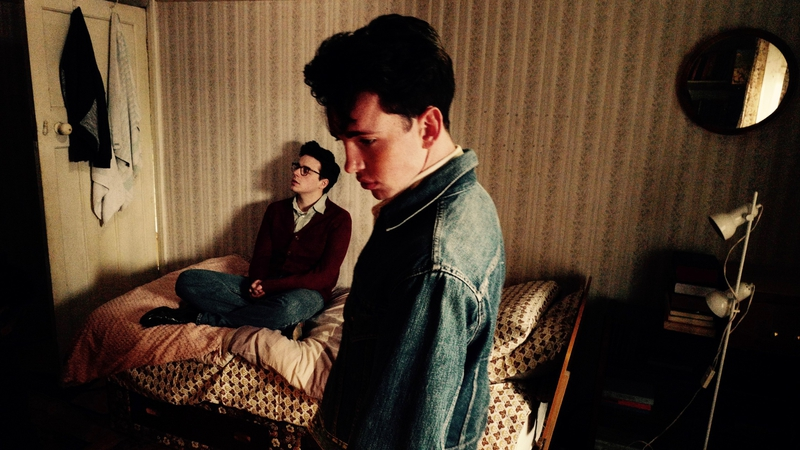 In the laboratory of genius: Jack Lowden (seated) as Morrissey and Laurie  Kynaston